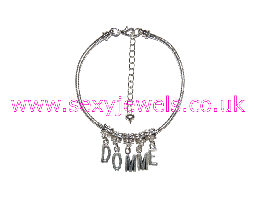 Euro Anklet / Ankle Chain `DOMME` Femdom Female Domination Mistress