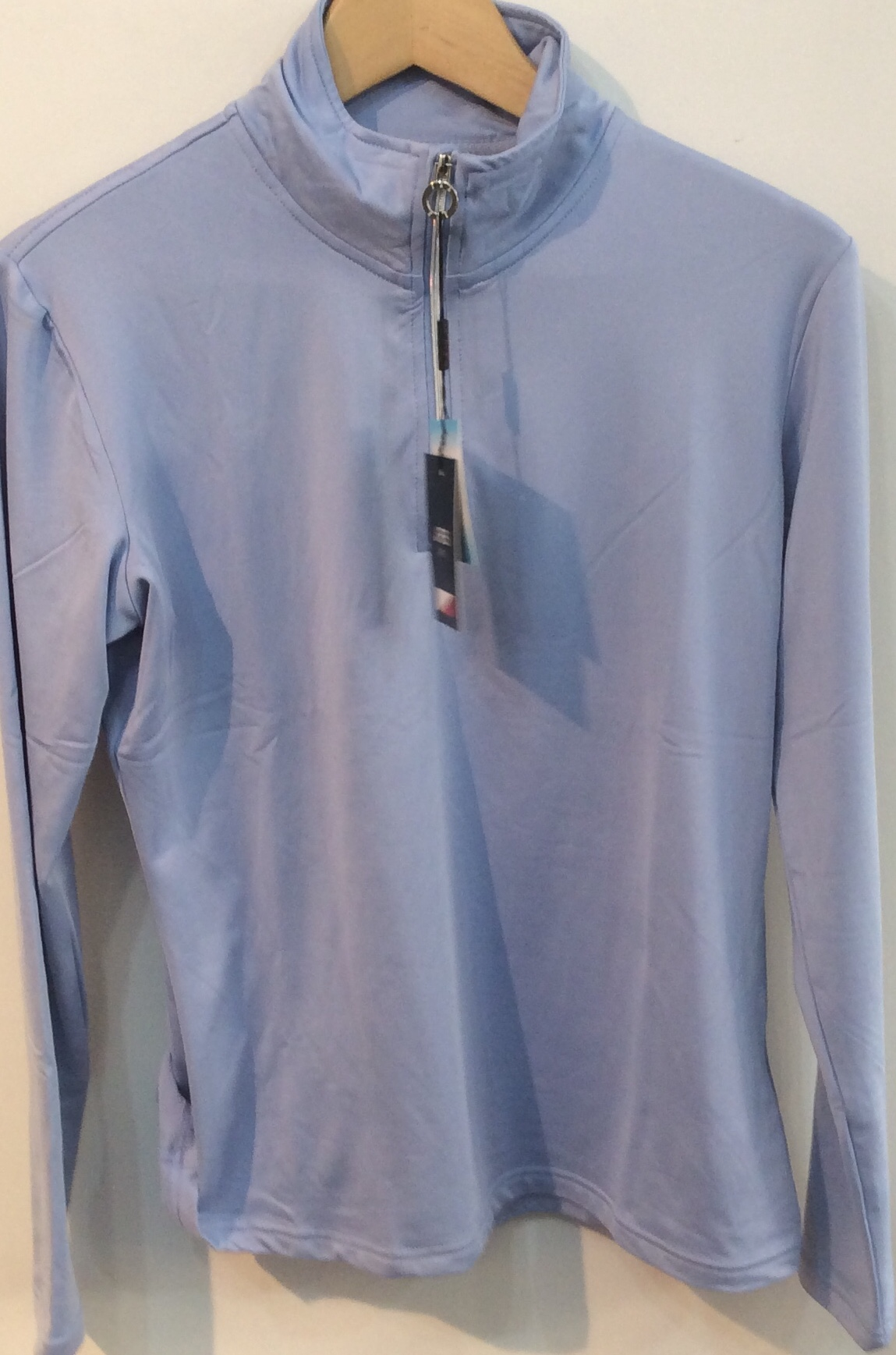 JRB 1/4 zip top - Blue