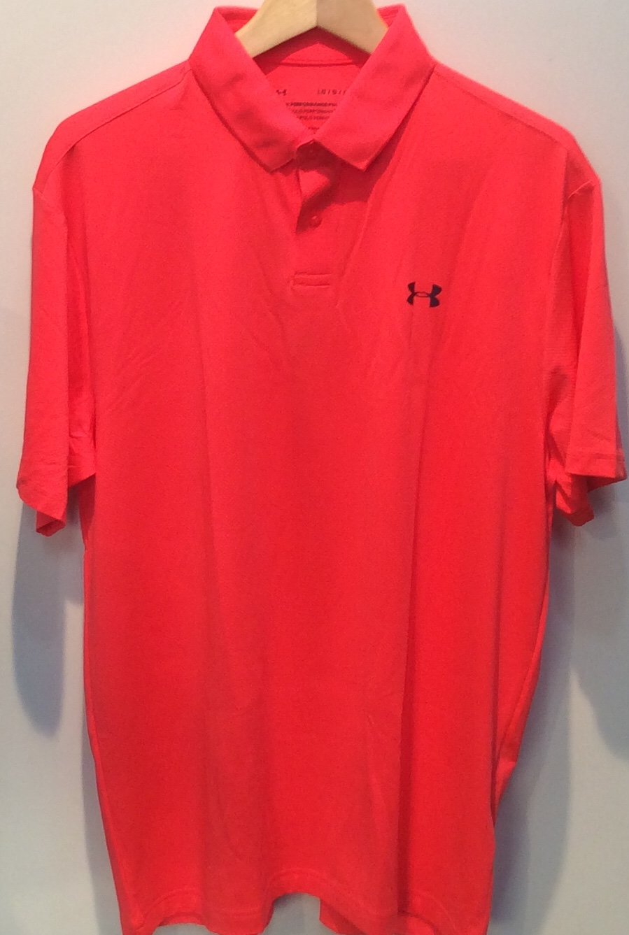 UA Performance Polo - Orange