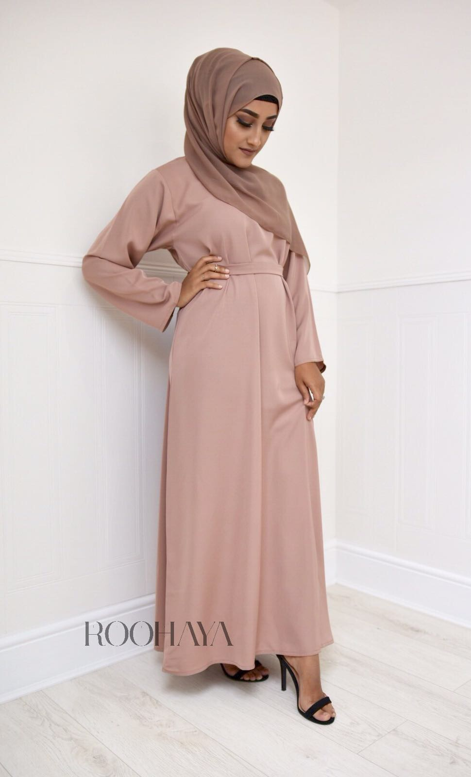 Aisha Inner Abaya Mink