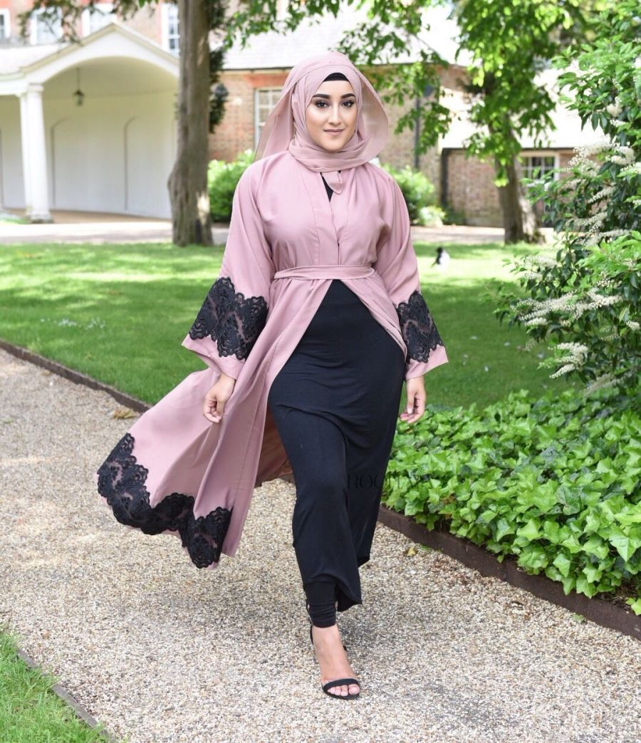 Inaya Lace in Tan blush