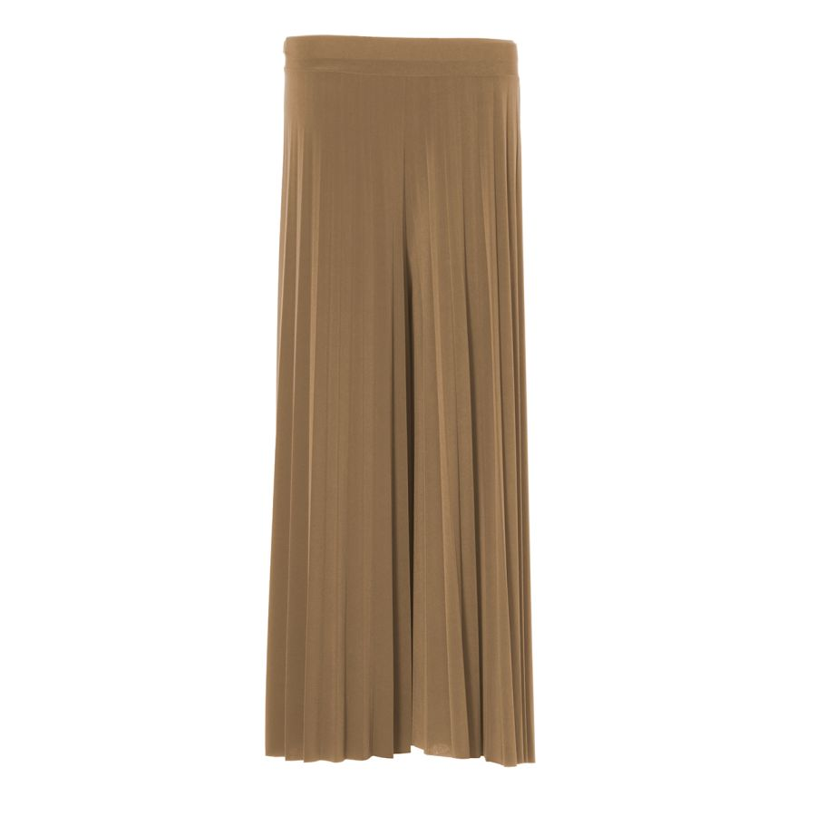 Pleated Plazzo Camel