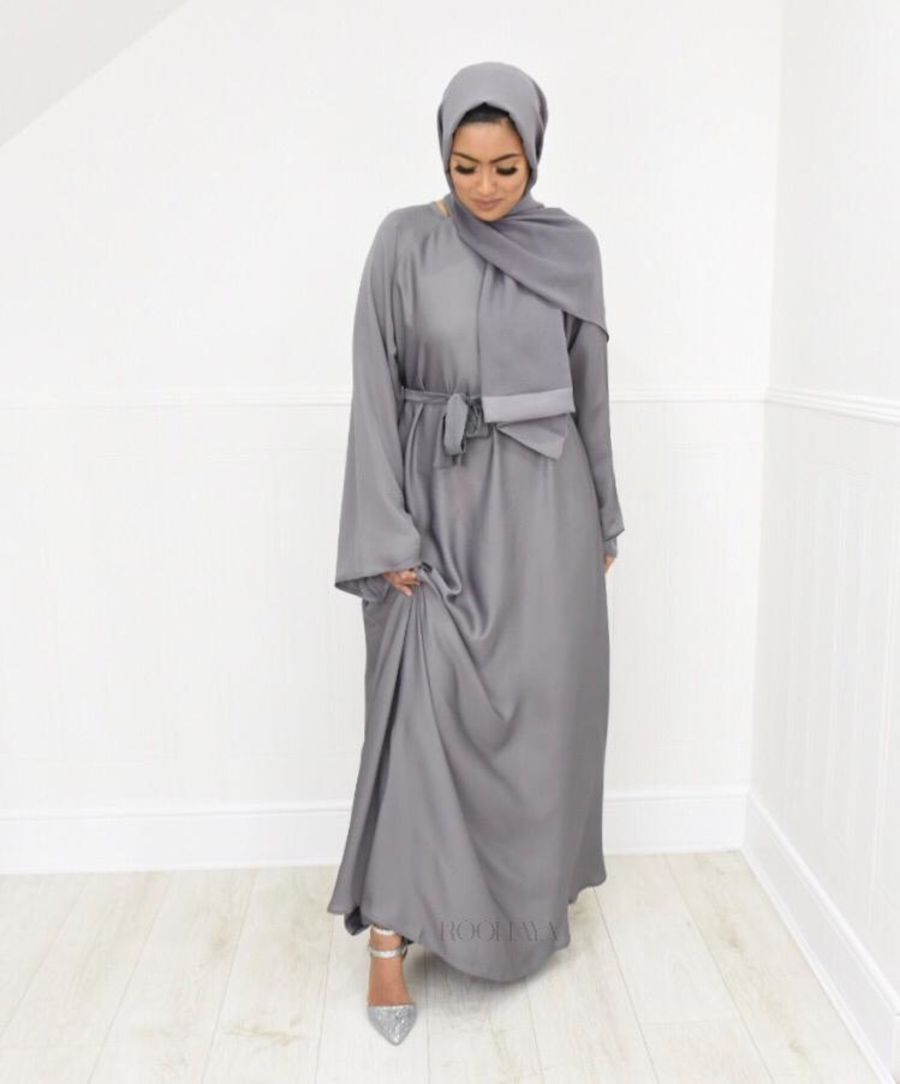 Djamila flare Light Grey