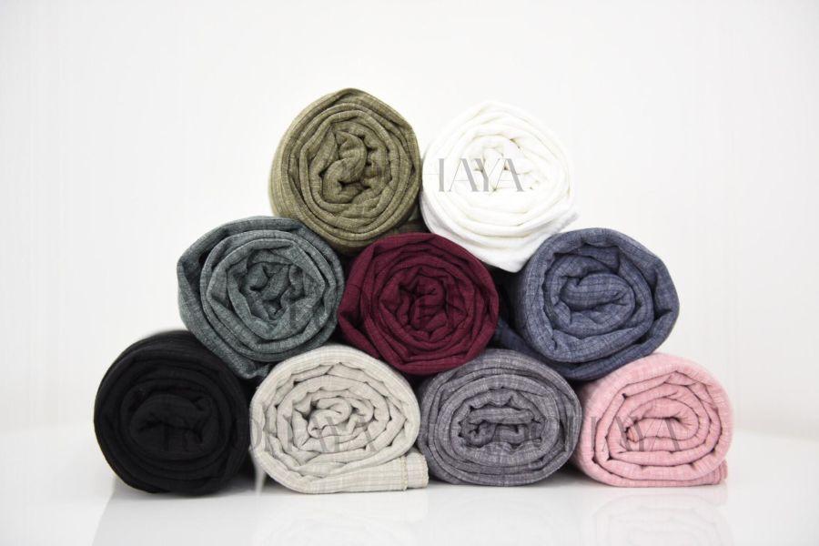 Ribbed Jersey scarf hijab
