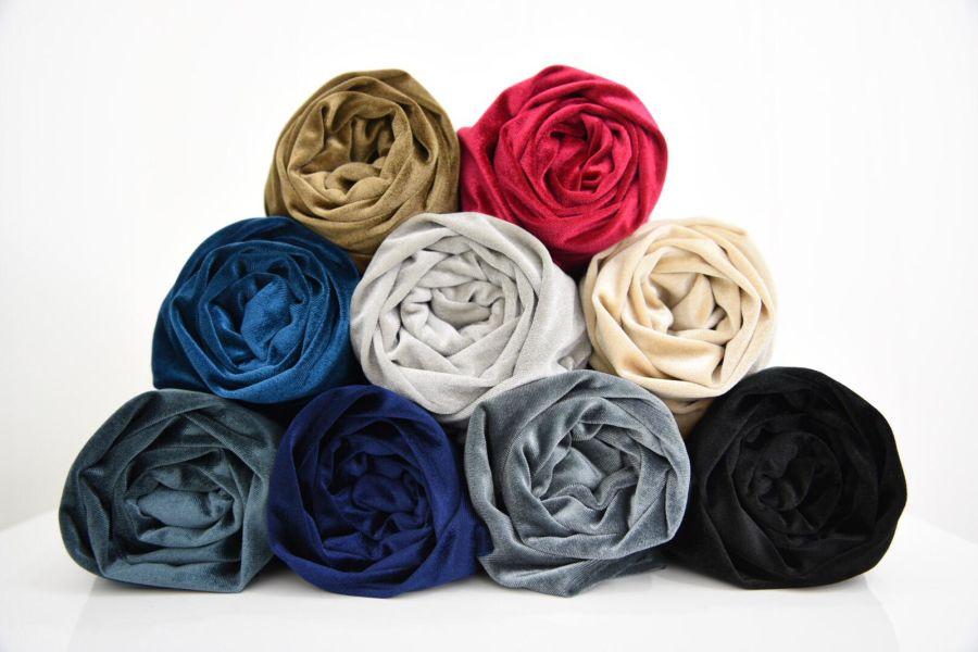 Velvet hijab