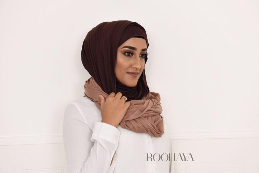 Jersey snood hijab