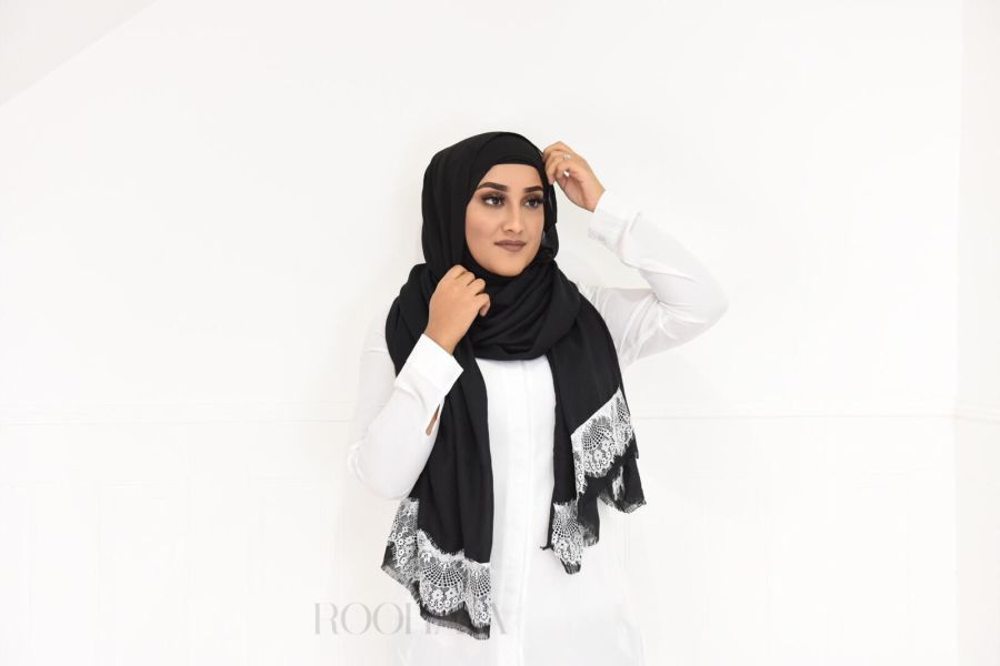 Maxi Lace shawl Hijab