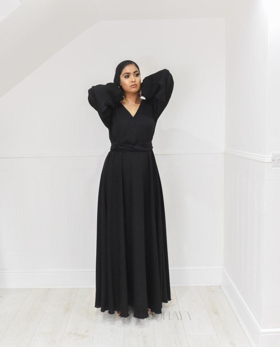Amal wrap flare Black