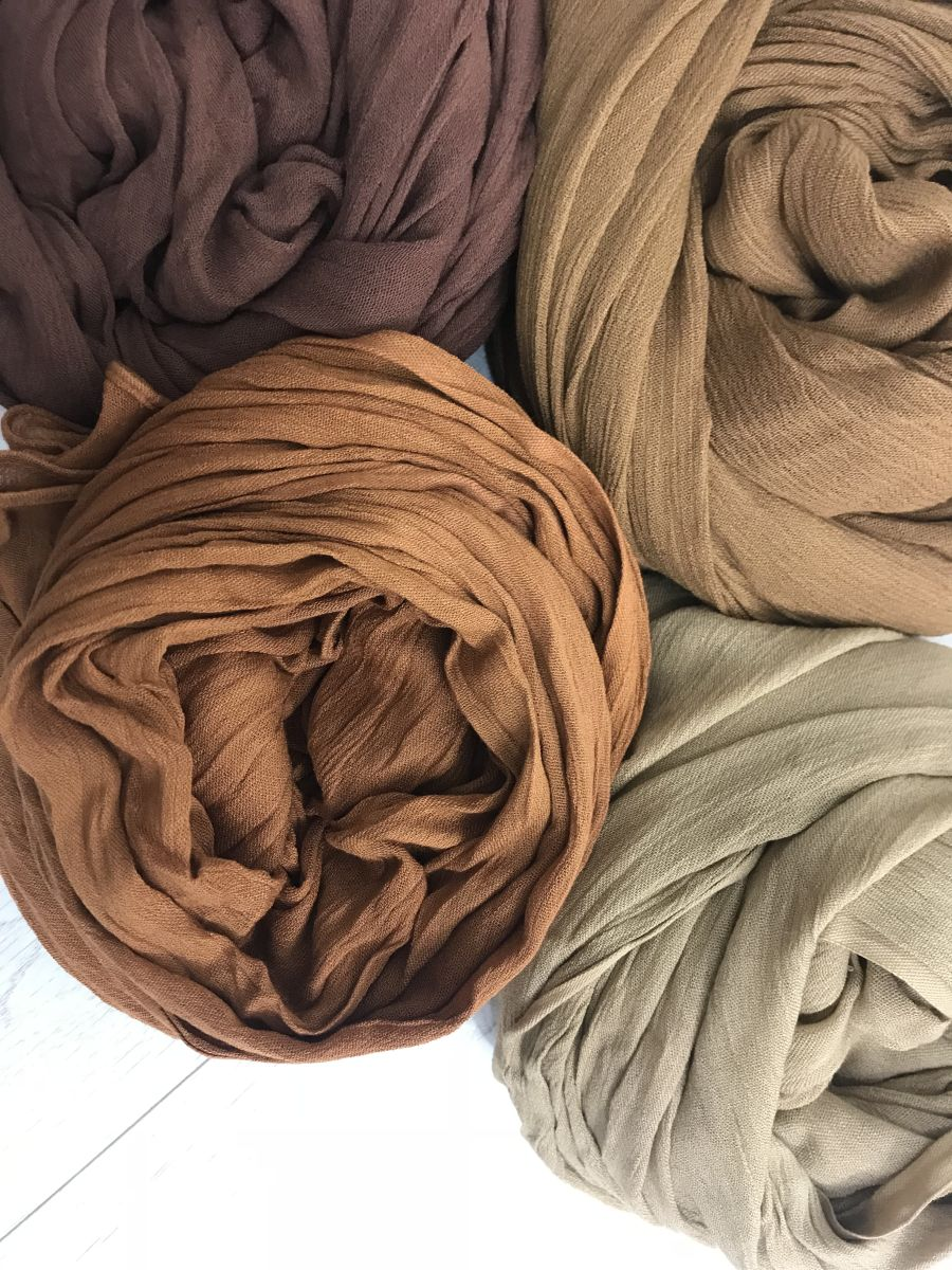 Rayon Hijab Crinkle