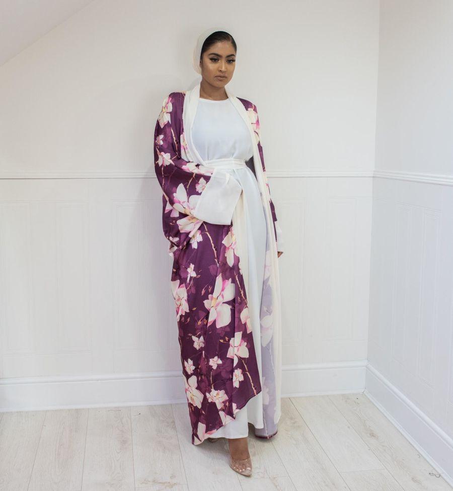 Orchid Plum Kimono