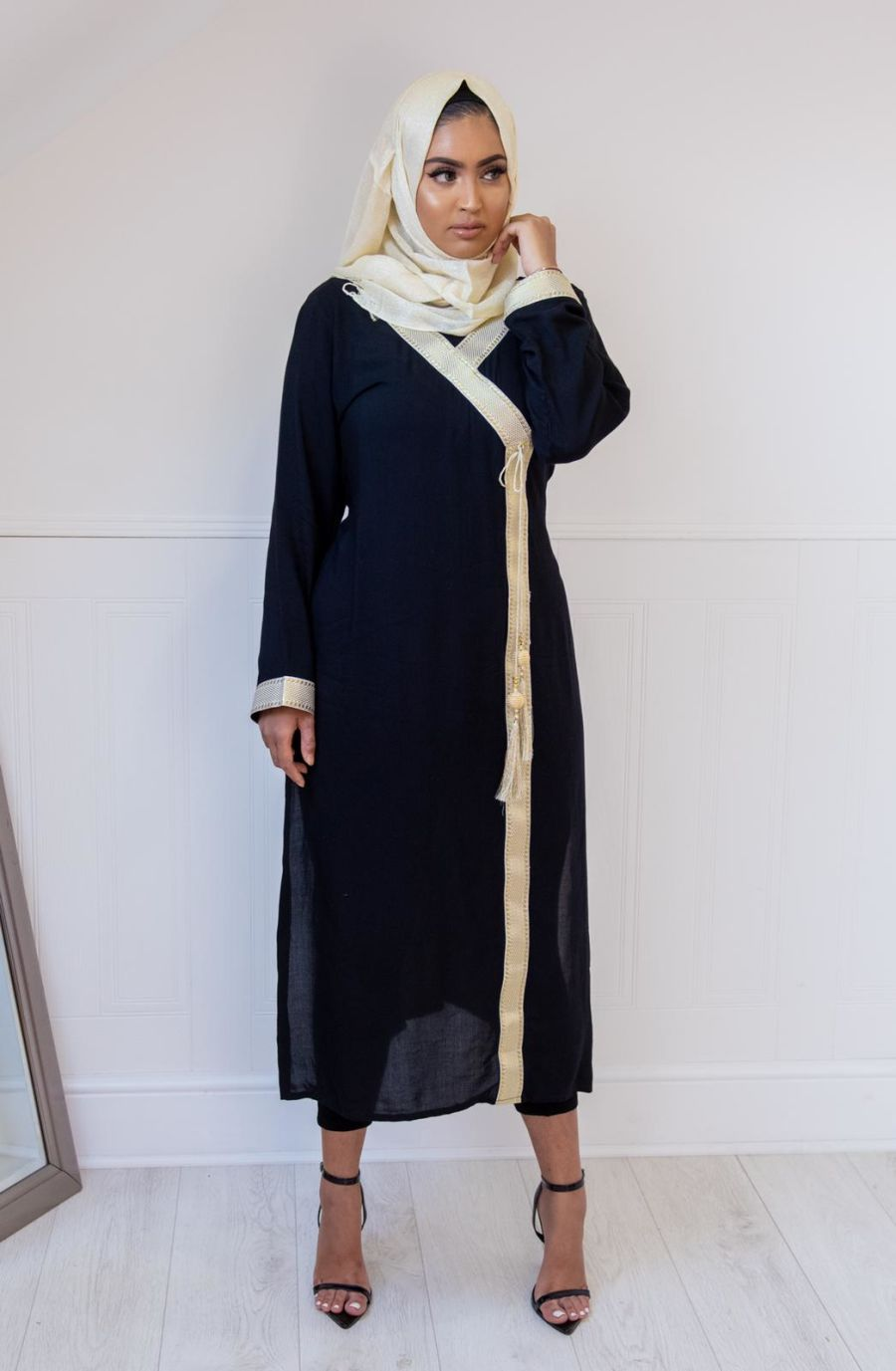 Regal Kurta in Black