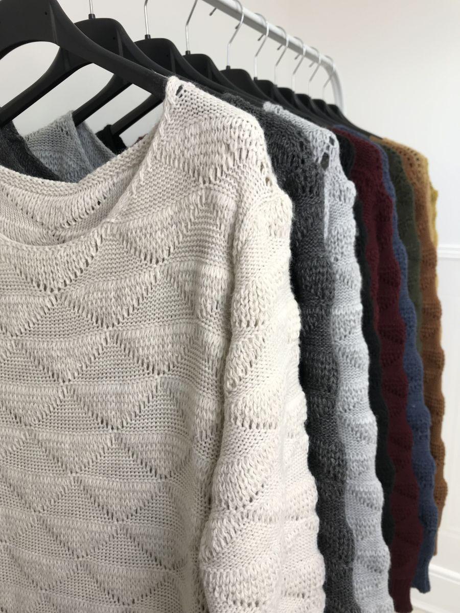 Odense diamond knit