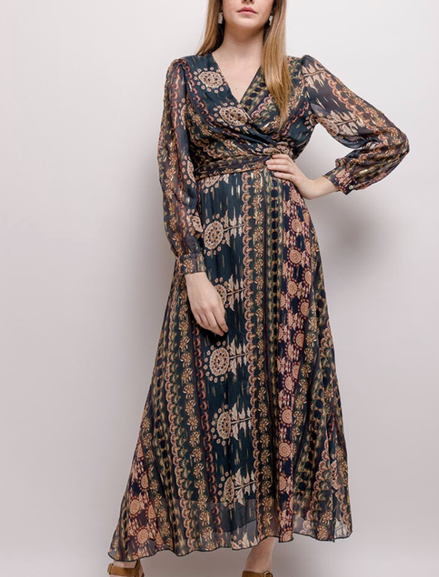 Indian summer tea party dress