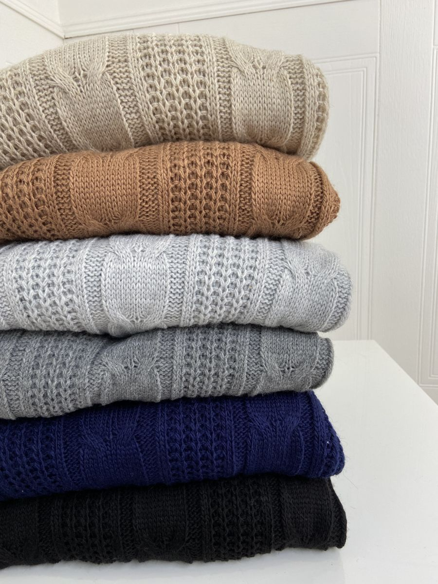 Arys cable knit ribbed