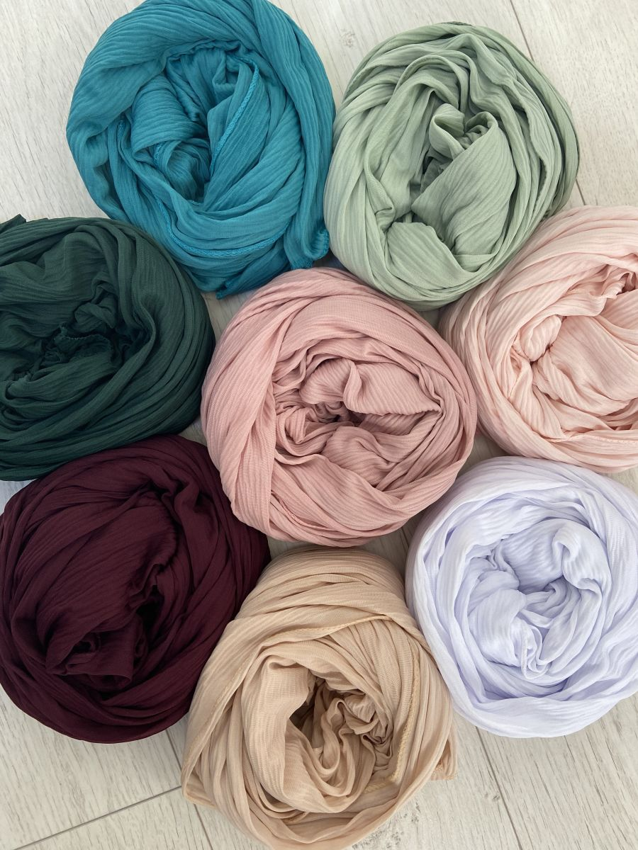 Jersey crinkle Hijab