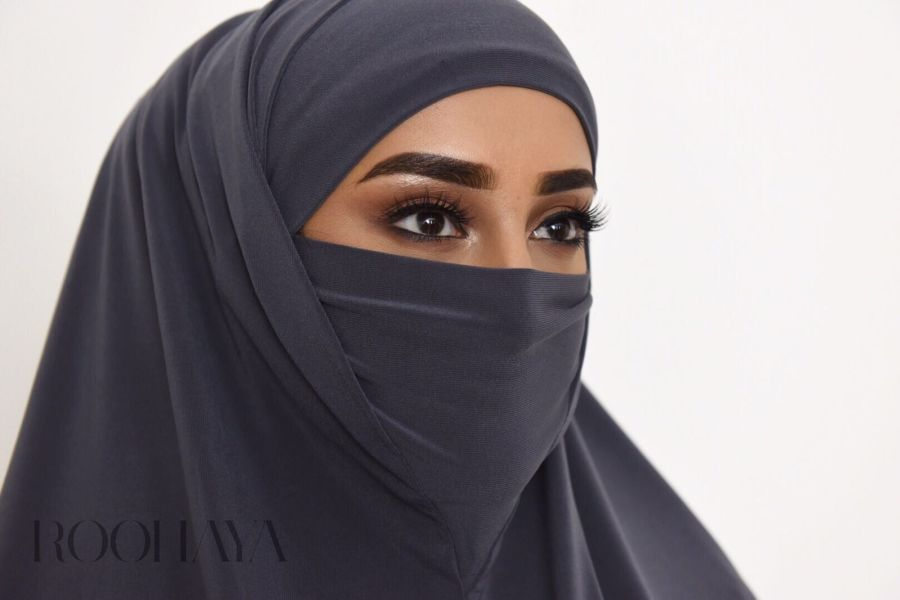 HINISK All in one Hijab Niqab Mask