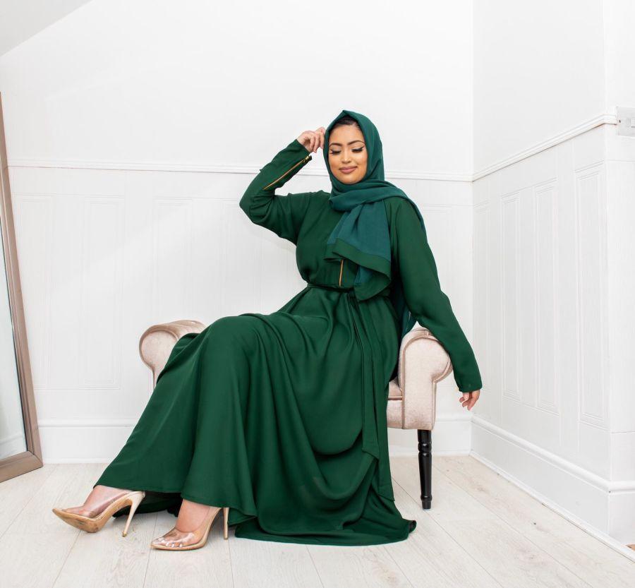 Habiba Zip flare in Forest
