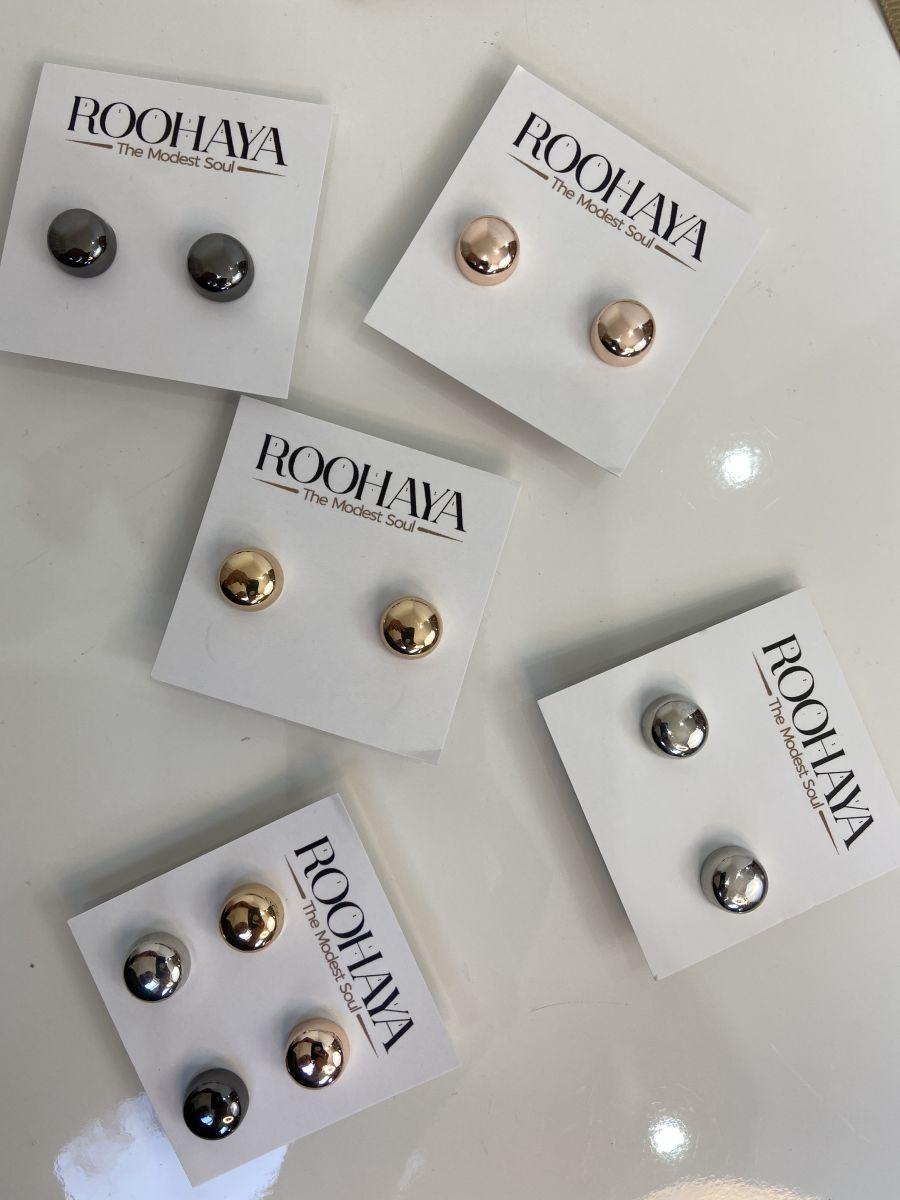 Metallic Magnet pins