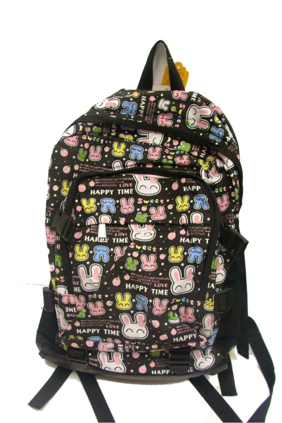 Happy Bunny Skater Rucksack Bag