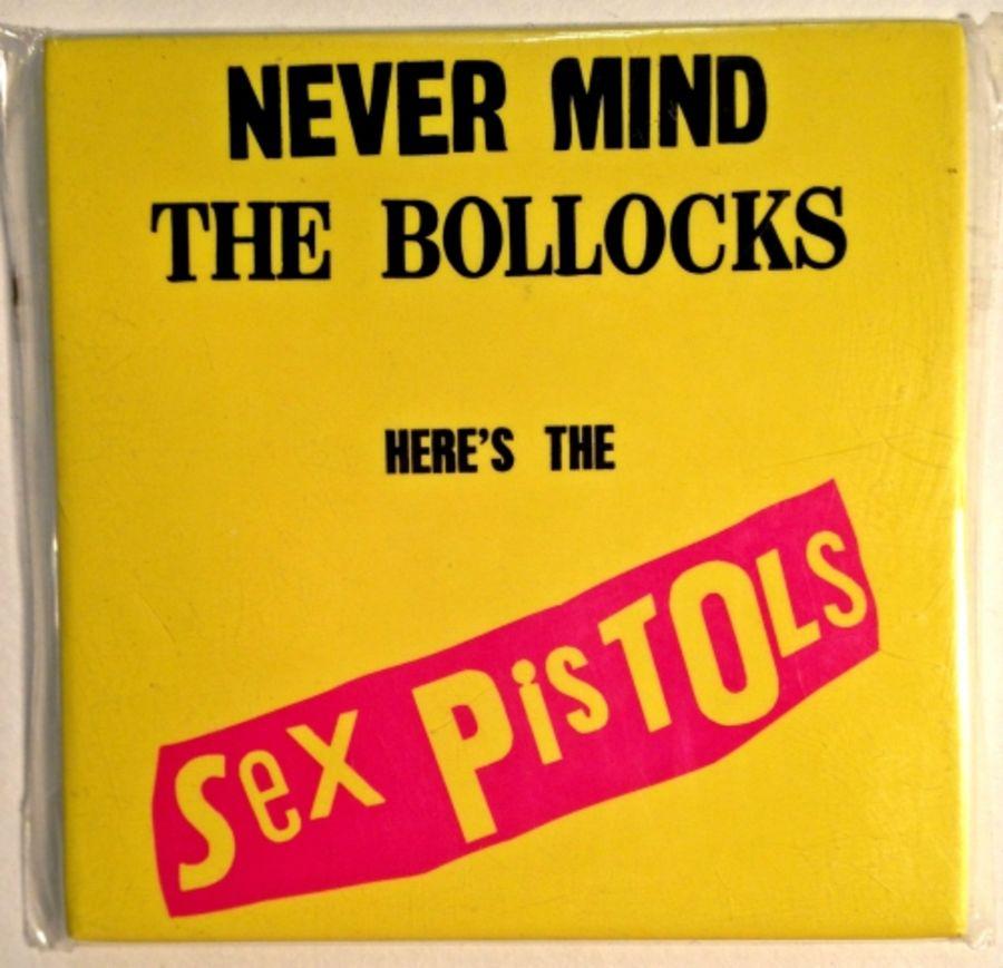 Sex Pistols Fridge Magnet featuring classic album logo