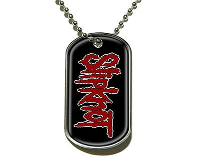 Slipknot Dog Tag