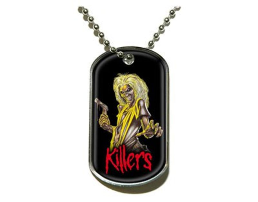 Iron Maiden Dog Tag - Killers