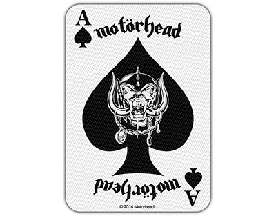 Motorhead The Ace Of Spades  Sew  On Patch