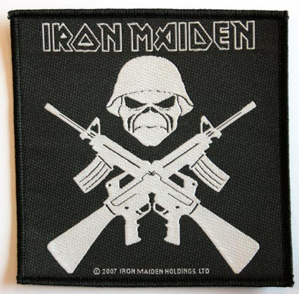 Iron Maiden Crossed Rifles Patch