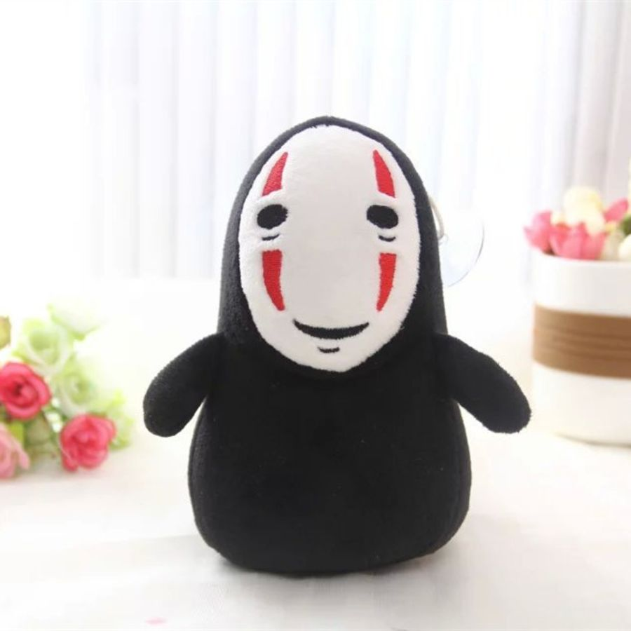 Black and Red Spirited Away Plushie
