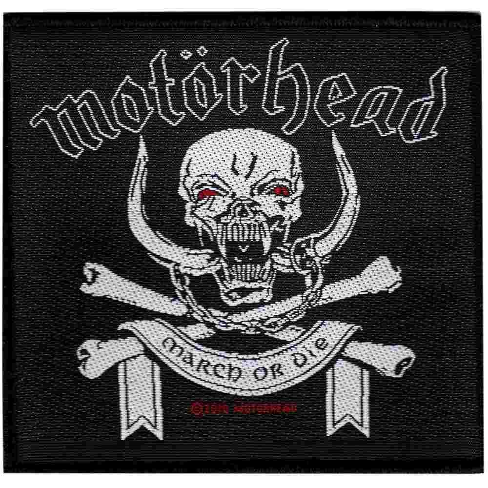 Motorhead 'March Or Die' Black Patch