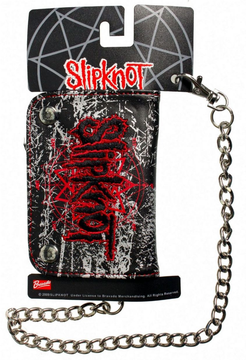 Slipknot 'Nonagram' Logo Chain Wallet