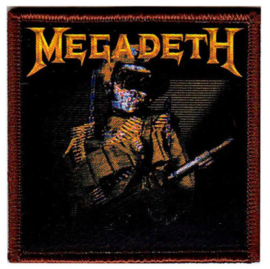 Megadeth 'So Far, So Good, So What' Sew On Patch