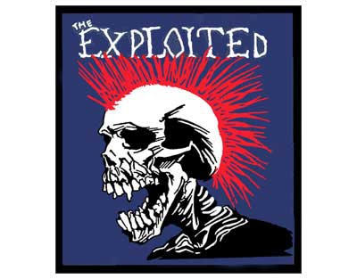 'The Exploited' Sew On Patch