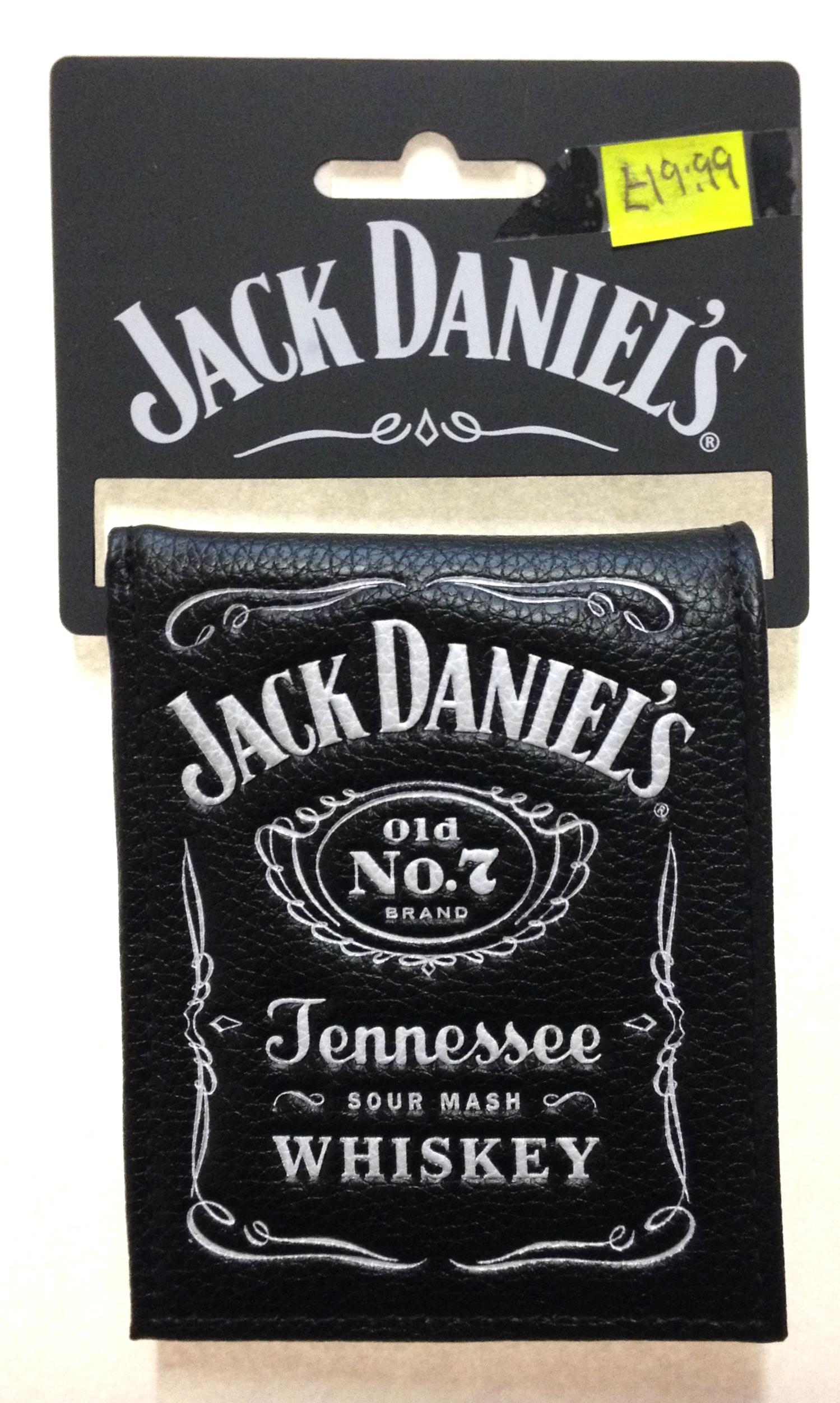 Jack Daniel's 'Old No.7' Bi-Fold Wallet