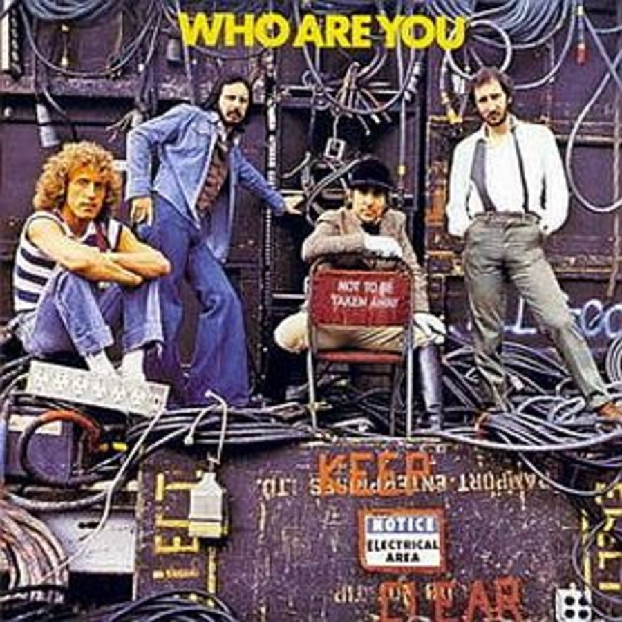 The Who 'Who Are You' Magnet