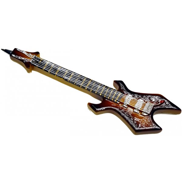 Rock Guitar Pen 'Brown Jagged'