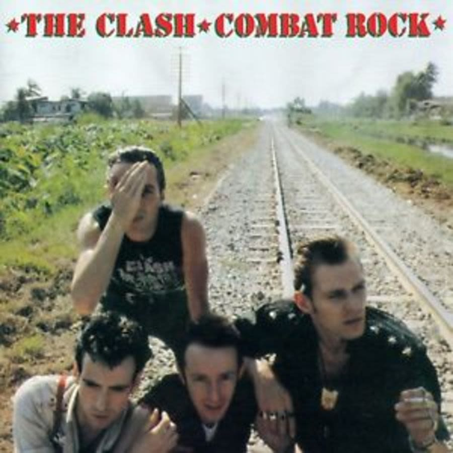 The Clash 'Combat Rock' Magnet