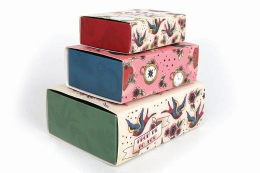 Small Tattoo Gift Boxes x3