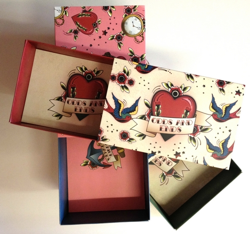 Large Tattoo Gift Boxes x3
