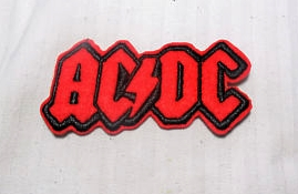 AC DC - Logo Iron On Patch