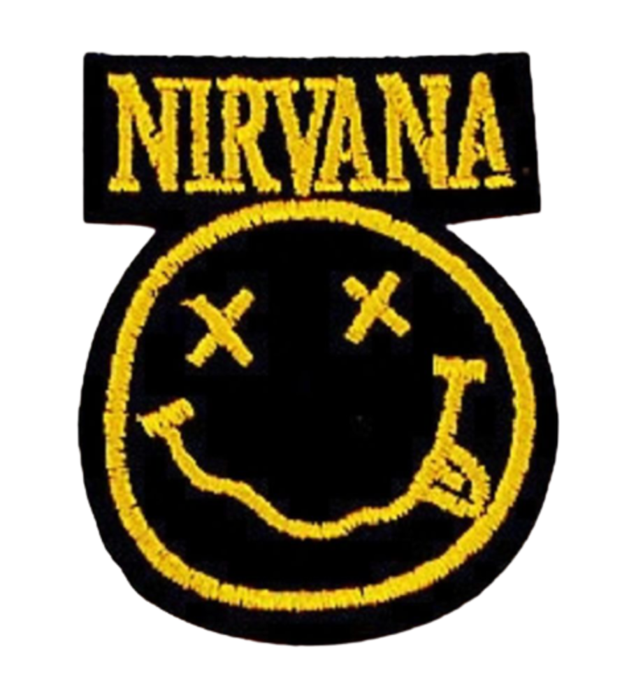 Nirvana Iconic Smiley Logo Iron on Patch