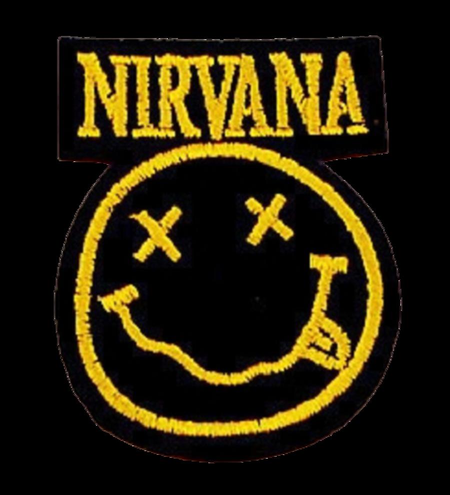 Nirvana Smiley Iron on patch