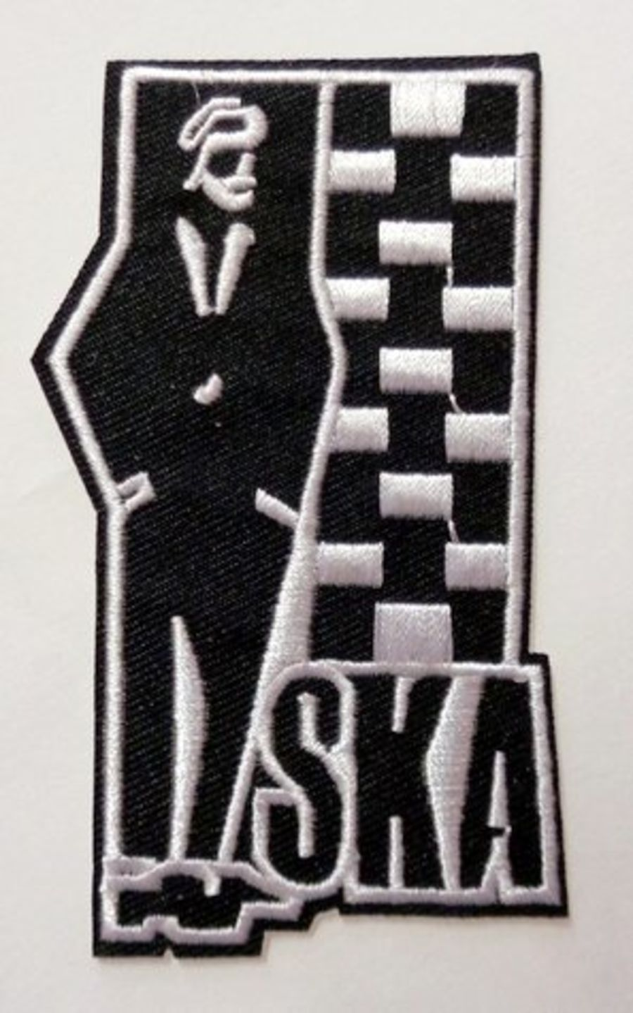 SKA Iron On Patch