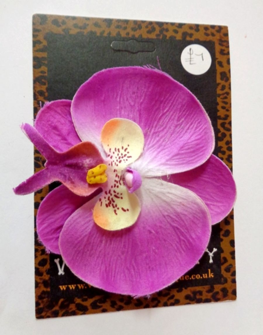 Voodoo Betty's Purple Orchid Hair Accessory