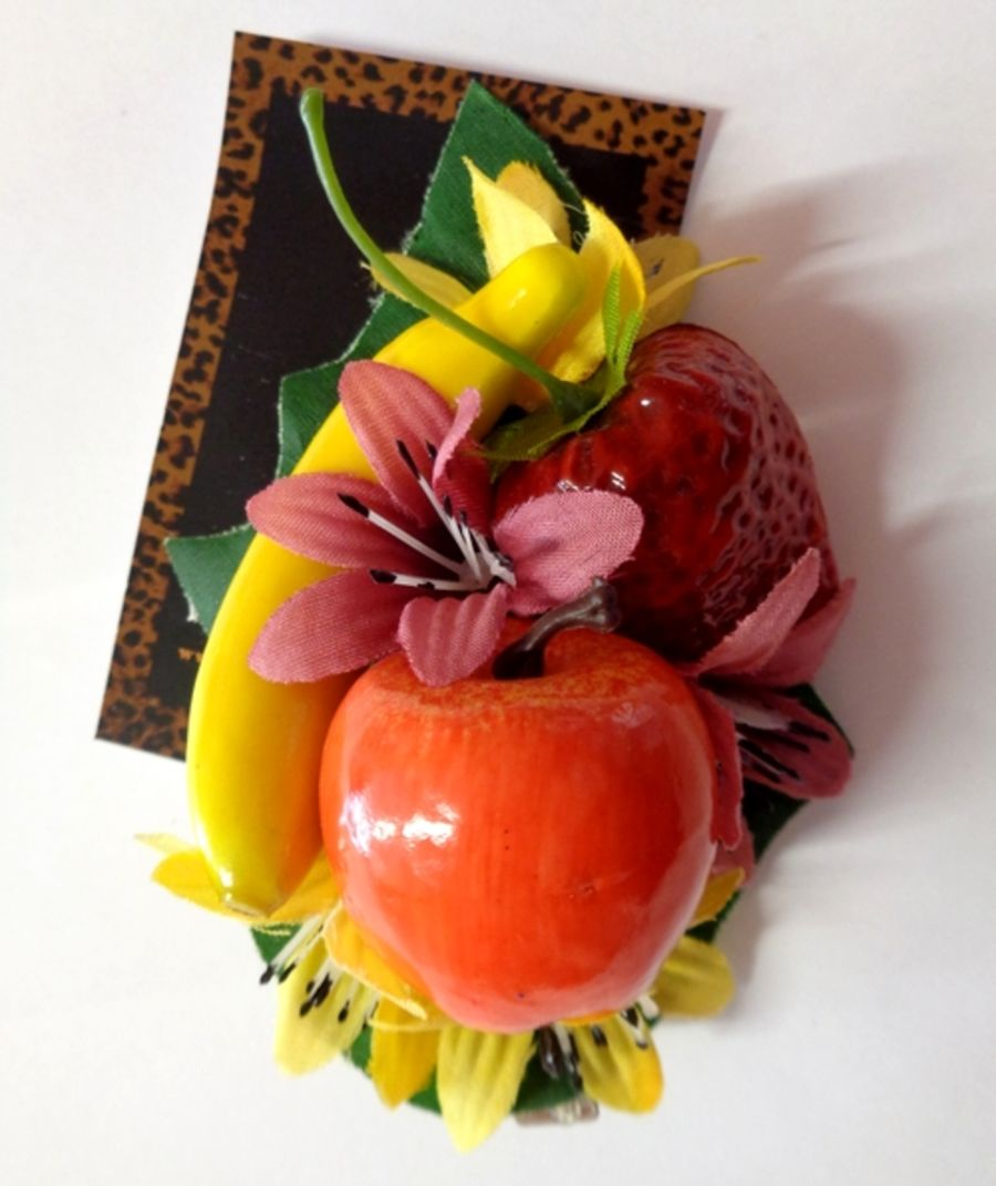 Voodoo Betty's Fruits And Flowers Hair Accessory