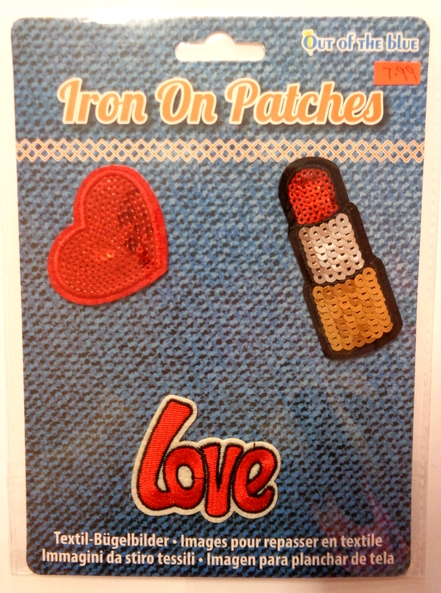 Iron on Patches - Love Pack