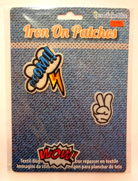 Iron On Patches - Cartoon Pack