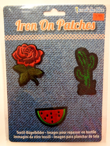 Iron On Patches - Rose Pack