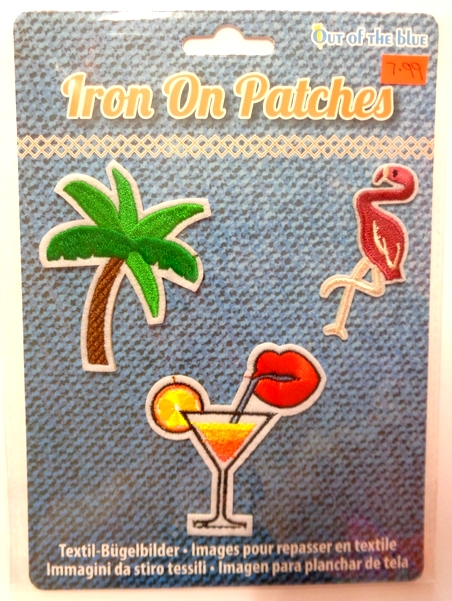 Iron on Patches - Tropical Pack