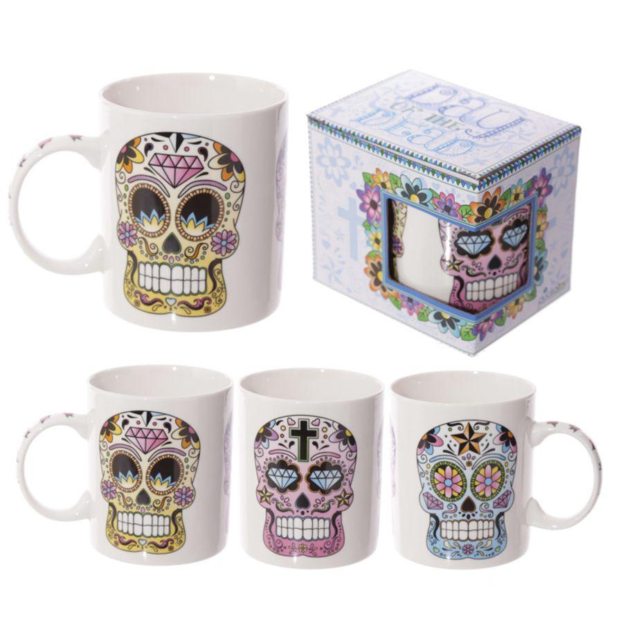 Calavera Triple Skull Mug